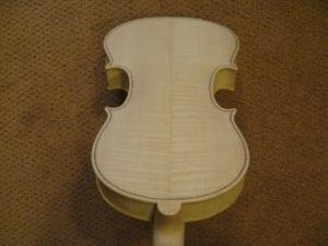 Gotowy instrument do lakierowania